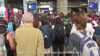 SNCF : opération séduction avant les départs de l'été