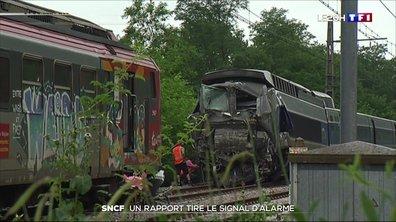 SNCF : un rapport tire le signal d'alarme sur l'état du réseau