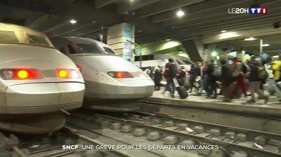 SNCF : une grève pour les départs en vacances
