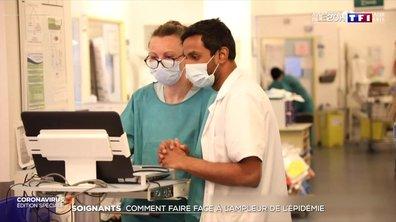 Soignants : comment faire face à l'ampleur de l'épidémie ?