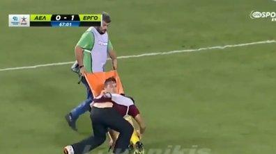 Vidéo insolite : Quand des soigneurs martyrisent un joueur !