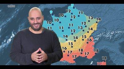 Jérôme Commandeur présente (mal) la météo