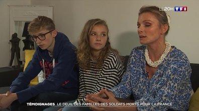 Soldats morts pour la France : des familles témoignent