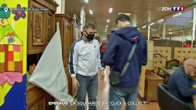 """Solidarité : Emmaüs propose des produits en """"click and collect"""""""