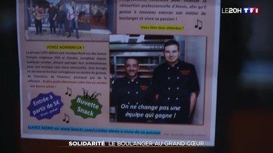 Solidarité : il réaménage sa boulangerie pour un apprenti handicapé par un accident