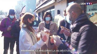 Solidarité : ils améliorent la vie des étudiants