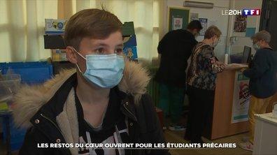 Solidarité : les Restos du cœur ouvrent pour les étudiants précaires