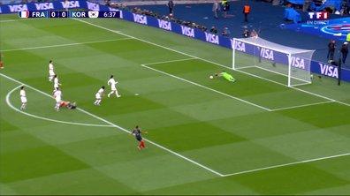 France - Corée du Sud (0 - 0) : Voir l'occasion de Le Sommer en vidéo