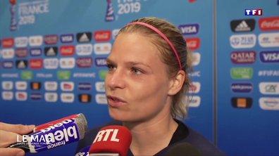 """Eugénie Le Sommer sur son penalty : """"Elles ont essayé de me déstabiliser"""""""