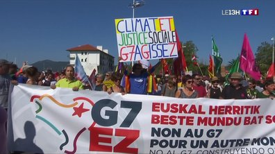 Sommet du G7 à Biarritz : les opposants se mobilisent