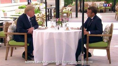 Sommet du G7 : Emmanuel Macron et Donald Trump à la manœuvre