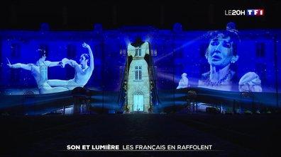 Son et lumière : les Français en raffolent