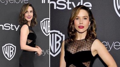 Sophia Bush sublime aux Golden Globes 2017