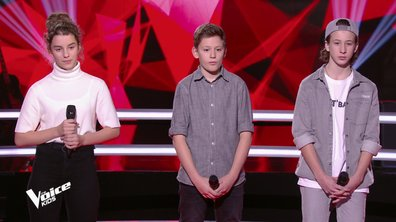 The Voice Kids 6 - BATTLES (Jenifer) : Qui de Esteban, Alais ou Joann a gagné ? (REPLAY)