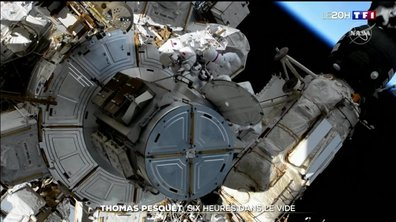 Sortie dans l'espace de Thomas Pesquet : plus de six heures dans le grand vide