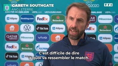 """Gareth Southgate : """"Difficile de dire à quoi va ressembler le match"""""""