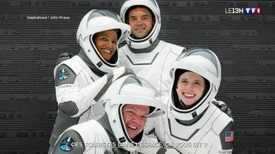 SpaceX : lancement de son premier vol touristique dans l'espace ce mercredi