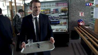 Emmanuel Macron : les coulisses d'une victoire - Pause dans un restaurant d'autoroute - Lundi 08 mai à 21H