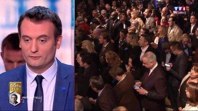 """Florian Philippot : """"Je souhaite bonne chance à Emmanuel Macron"""""""