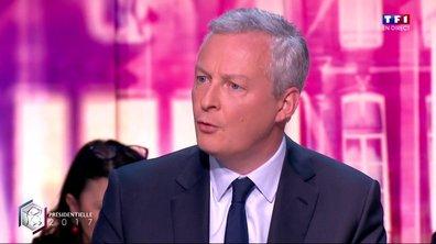 """Le Maire : """"Je souhaite qu'Emmanuel Macron rassemble"""""""