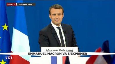 Présidentielle : le discours en intégralité d'Emmanuel Macron