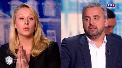 Présidentielle : la prise de becs entre Alexis Corbière et Marion Maréchal Le Pen sur TF1
