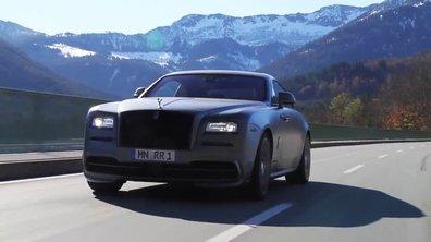 Spofec Rolls-Royce Wraith : présentation officielle en vidéo