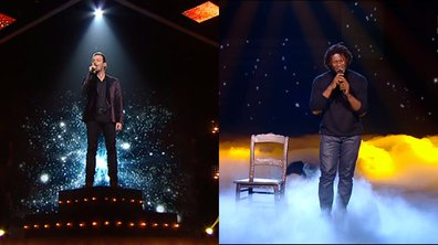 The Voice : Nuno Resende et Emmanuel Djob, les deux premiers sauvés par le public !