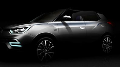 Les concepts SsangYong XIV-Air et XIV-Adventure prévus au Mondial de l'Auto 2014