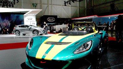 Salon Genève 2016 : Lotus dévoile sa puissance et sa légèreté en 4 modèles