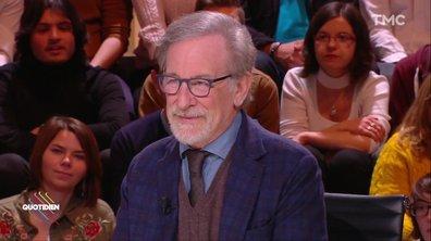 Invité – Journalisme d'investigation, Trump, Weinstein… Steven Spielberg se livre dans Quotidien