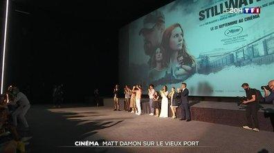 """""""Stillwater"""" : l'acteur américain Matt Damon sur le vieux port"""