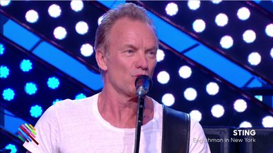"Sting - ""Englishman in New-York"" en live sur Quotidien (exclu web)"