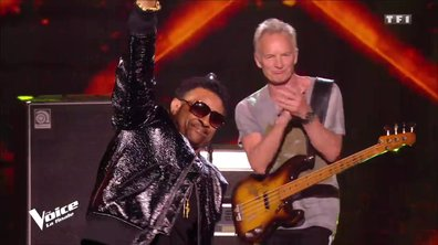 "Sting et Shaggy : ""Don't make me wait"" en live sur la scène de ""The Voice"""