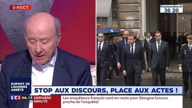 Stop aux discours, place aux actes !