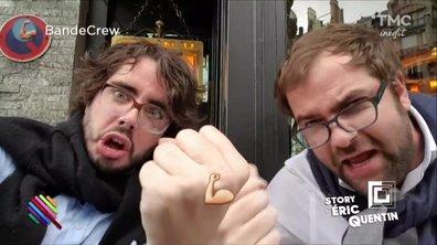 La story d'Eric et Quentin : l'info du vendredi, c'est de ....