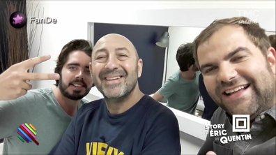 La story d'Eric et Quentin : Un selfie avec Kad Merad ?