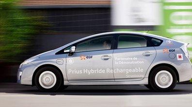 Cent Toyota Prius rechargeables testées à Strasbourg
