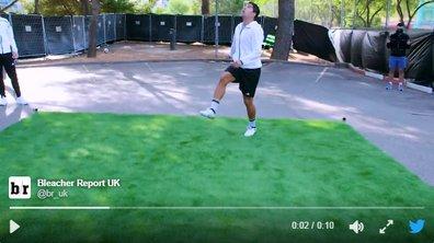Vidéo insolite : Suarez contrôle un ballon tombé du ciel