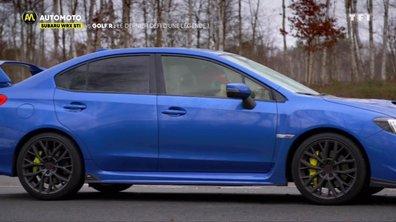 Subaru WRX STI vs Golf R, le dernier défi d'une légende