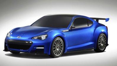 Salon de Los Angeles 2011 : Subaru BRZ STI Concept