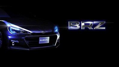 Subaru BRZ : première image officielle du coupé