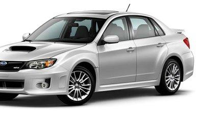 Subaru Impreza WRX, seulement pour les Américains !