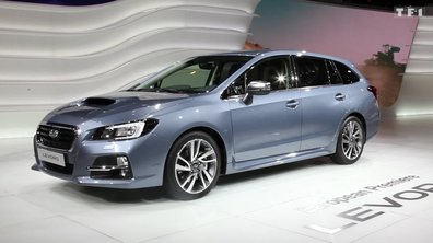 Subaru Levorg, le break alternatif au Salon de Genève 2015