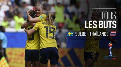 Suède - Thaïlande : Voir tous les buts du match en vidéo