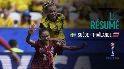 Suède - Thaïlande : Voir le résumé du match en vidéo