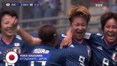 Japon - Ecosse (2 - 0) : Voir le but de Sugasawa en vidéo