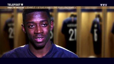 """[Exclu Téléfoot 15/04] - Equipe de France / Dembélé : """"A chaque fois que Deschamps va m'appeler, je vais répondre présent"""""""