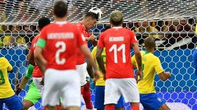 VIDEO. Brésil - Suisse : revoir l'égalisation de la Suisse (1-1)