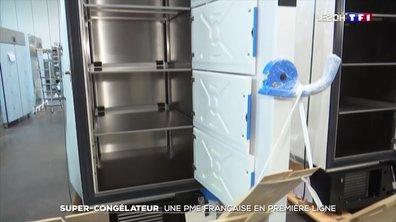 Super-congélateur : une PME française en première ligne